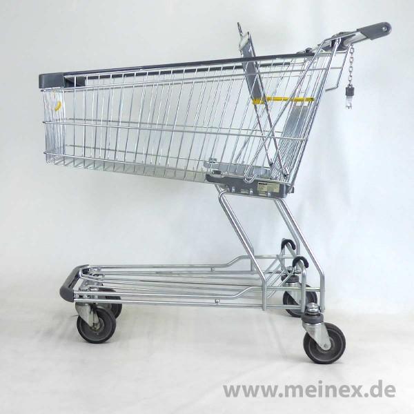 Einkaufswagen Wanzl DR 120 - gelb - gebraucht