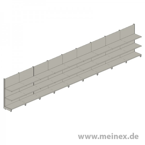 Tegometall Shelf - 9 Meter