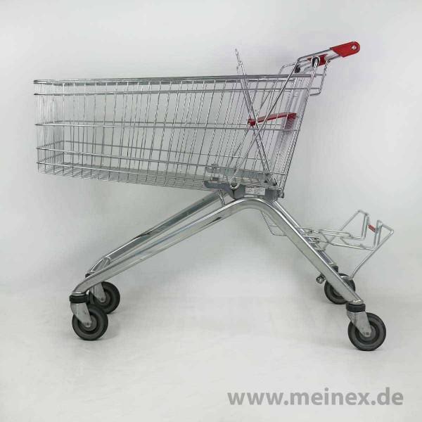 Einkaufswagen WANZL ELA 155 - roter Kindersitz - gebraucht