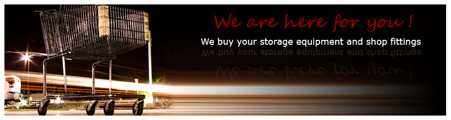 We recycle your storage and shop equipment!