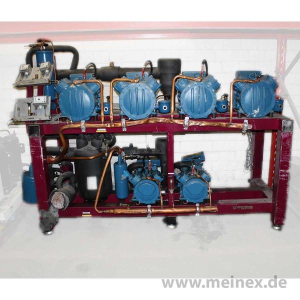 Verbundanlage - 6 Kolbenverdichter - gebraucht