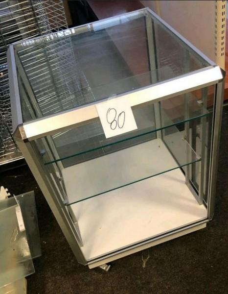 Glasvitrine Glasregal Glaswürfel Präsenter Ladeneinrichtung - gebraucht