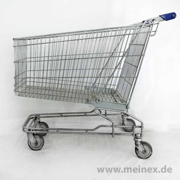 Einkaufswagen 210 - blaue Griffenden - gebraucht