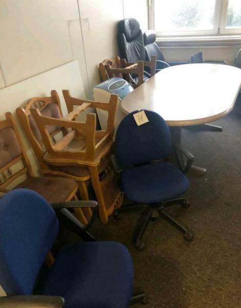 Tische Stühle Bürostuhl Esszimmer - gebraucht