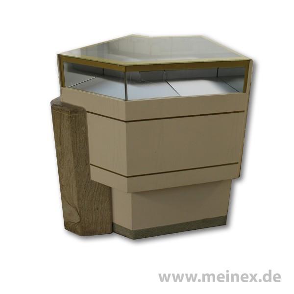 Verkaufstisch mit Sandsteinwand - gebraucht