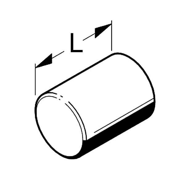 Burdening roller Tegometall