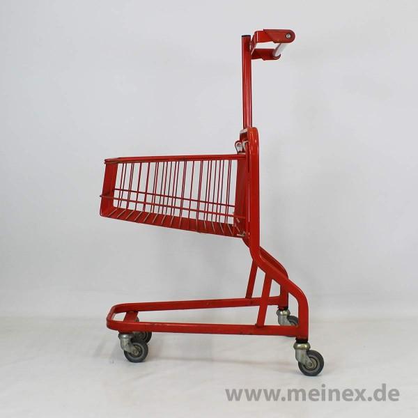 Textil-Einkaufswagen - rot - ohne Textilständer - gebraucht