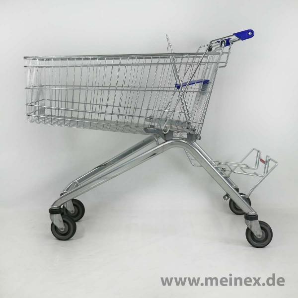 Einkaufswagen WANZL ELA 155 - blau - gebraucht