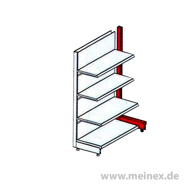 End-stand for Gondola Shelf or Wall Shelf - Tegometall