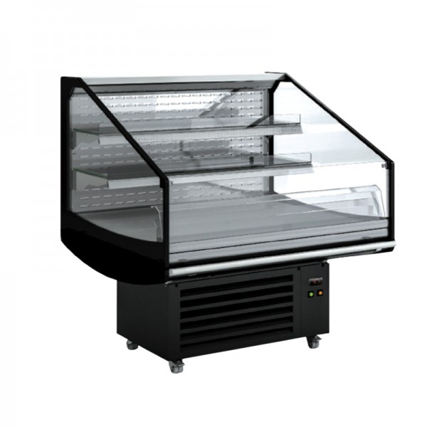 Refrigerated island / Cool counter - 1250 x 1050 mm - 180 liters