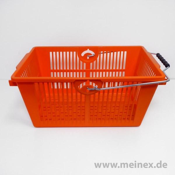 Einkaufskorb / SB-Einkaufskorb - orange - Neuware