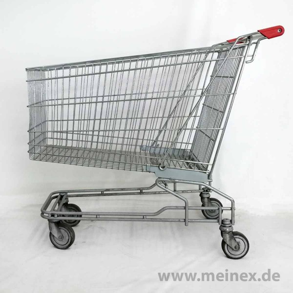 Einkaufswagen 210 - rote Griffenden - gebraucht