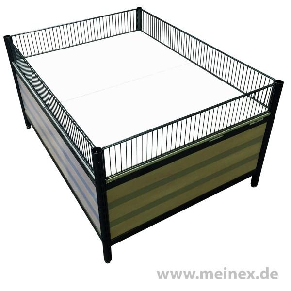 Aktionstisch / Wühltisch Wanzl 160x120cm - gebraucht