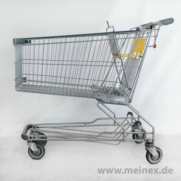 Einkaufswagen WANZL D185 RC - Kindersitz gelb - gebraucht