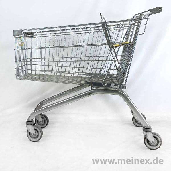 Einkaufswagen WANZL EL 185 - gelber Kindersitz - ohne Pfandschloss - gebraucht