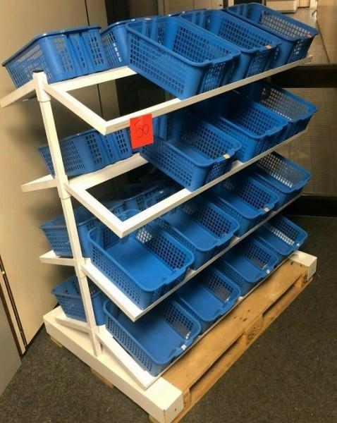 Gondel Verkaufsregal Wühlkörbe Aktionsdisplay - gebraucht