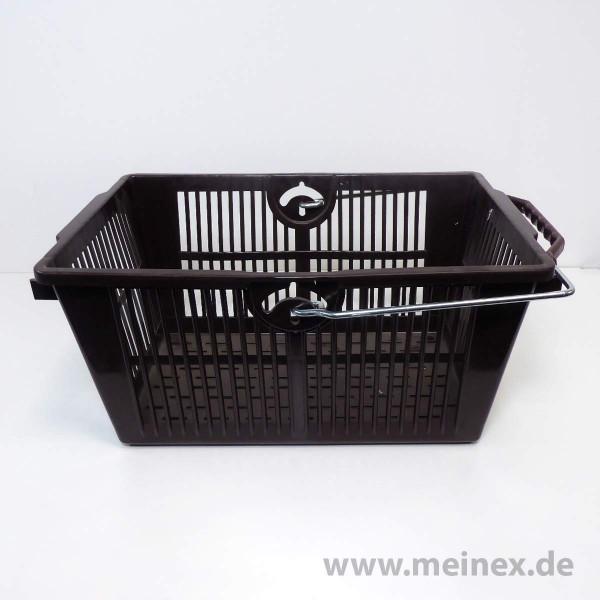 Einkaufskorb / SB-Einkaufskorb - 16 Liter - Braun - Neuware