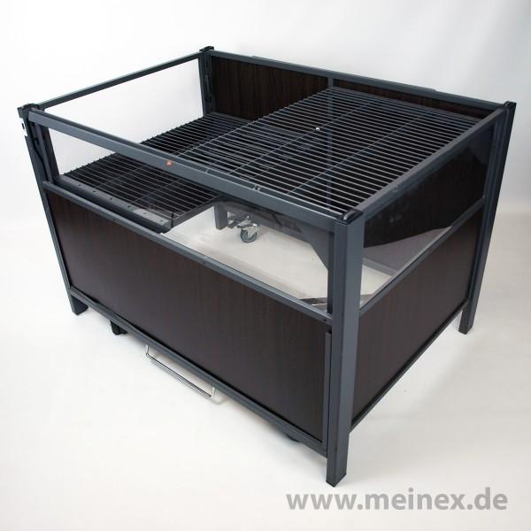 Aktionstisch / Wühltisch Holzdekor - 126x88cm - gebraucht