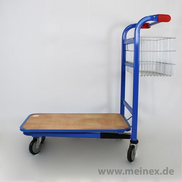 Cash 'n' Carrywagen CC 200 Blau - fabrikneu