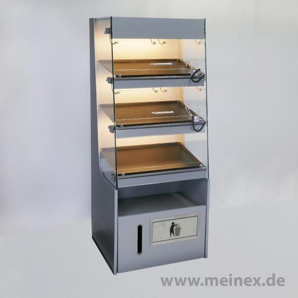 Donutregal mit Beleuchtung - 625x600x1600 - Neuware