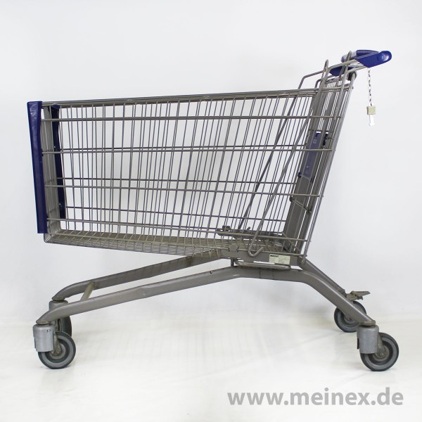 Shopping Trolley Wanzl AS 210 - Chromated - Used
