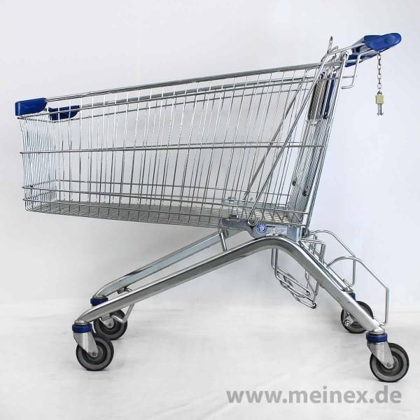 Einkaufswagen WANZL ELX 248 - Kindersitz blau - gebraucht