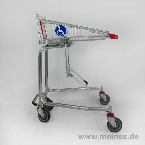 Einkaufswagen WANZL für Rollstuhlfahrer 40 - gebraucht