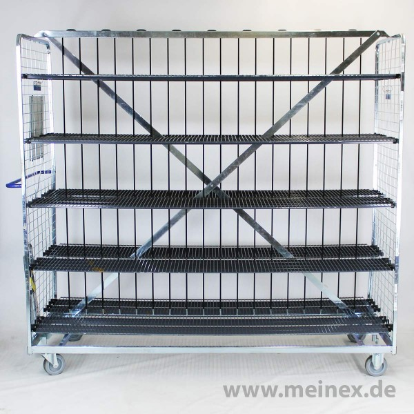 Kommissionierwagen / Sortierwagen / Blumenverkaufswagen - gebraucht