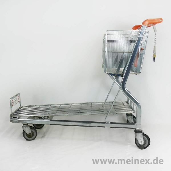 Transportwagen Wanzl MUC 400 - verzinkt - gebraucht