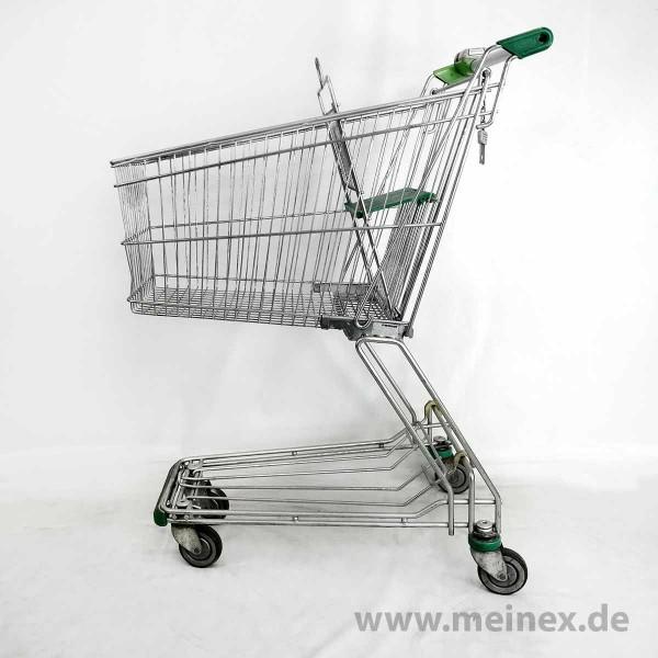 Einkaufswagen Wanzl D90RC - Grün - gebraucht