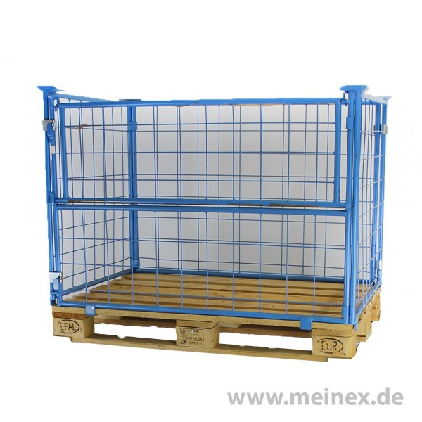 Grid Box Grid Frame Usable Height 800 Mm Blue Used
