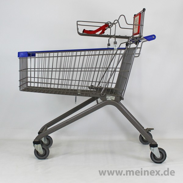 Shopping Trolley Wanzl EL155 - Babysafe - Anthracite - used