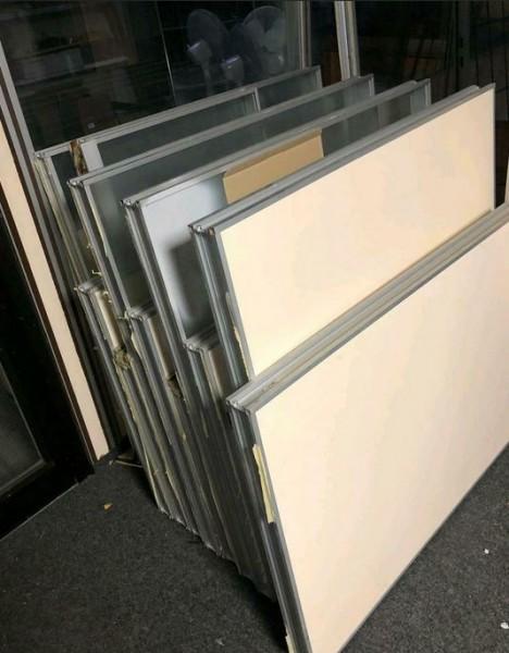 Posten Fenster Wände Leichtbau Büro - gebraucht
