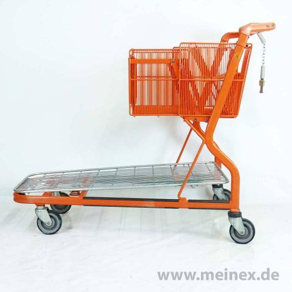 Transportwagen Wanzl MUC-400 - Drahtplattform - gebraucht