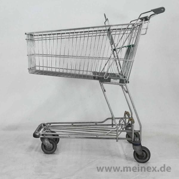Einkaufswagen WANZL D130 RC - Kindersitz grün- gebraucht