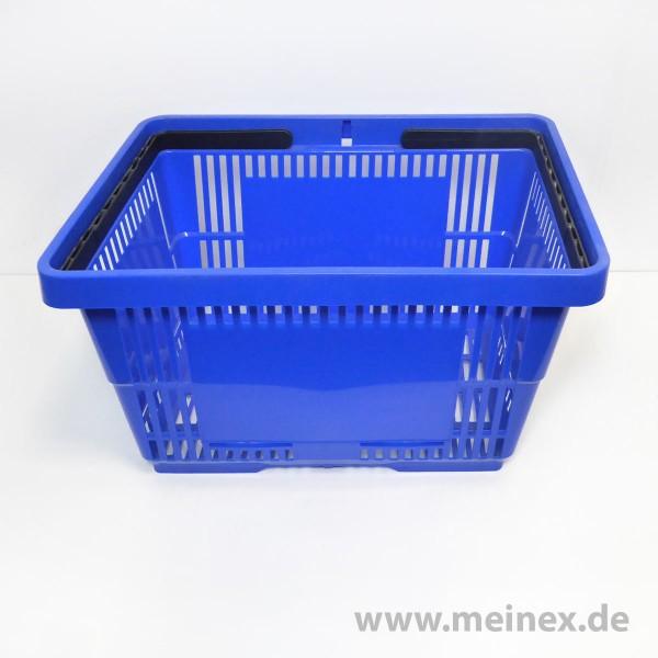 Einkaufskorb / SB-Einkaufskorb - 28 Liter - Blau - Neuware