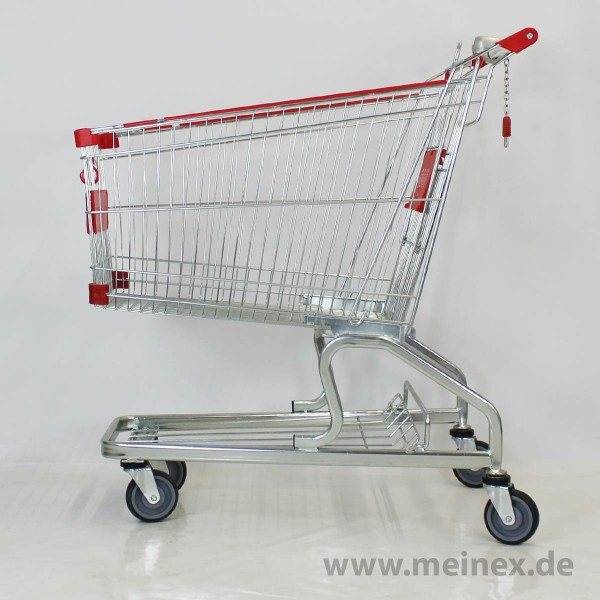Shopping Trolley Red 180L - New