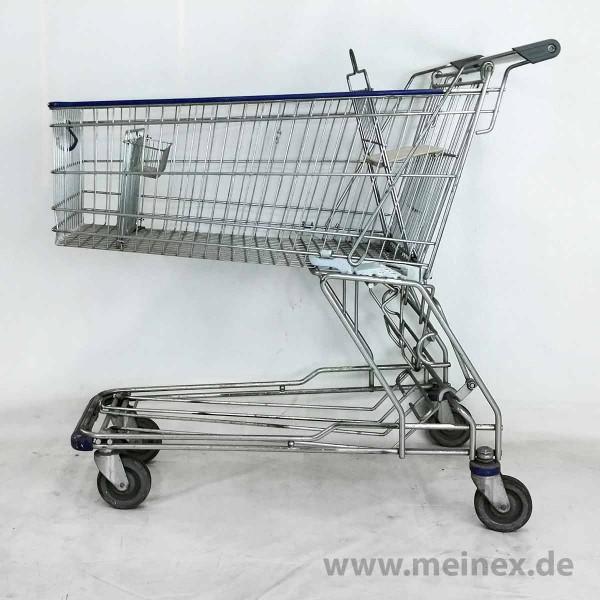 Einkaufswagen WANZL D155 RCA weiß - ohne Pfandschloss - gebraucht