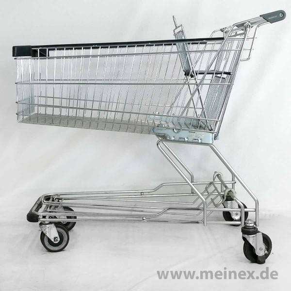 Einkaufswagen WANZL D155RC35F - Fahrsteigrollen - gebraucht