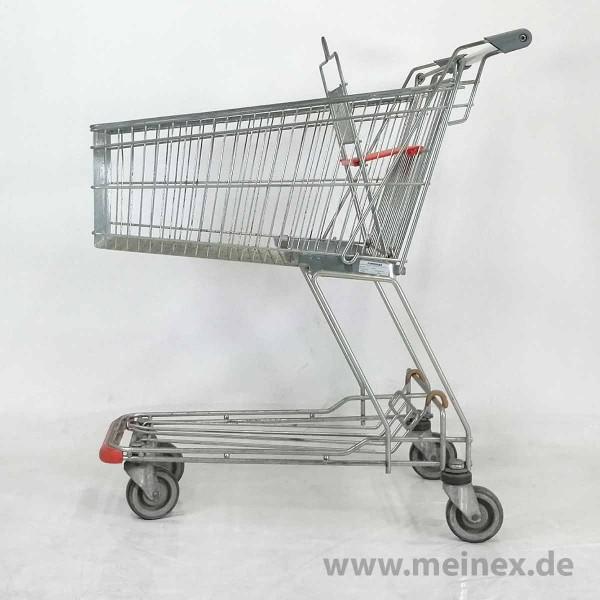 Einkaufswagen Wanzl D101RC - Kindersitz orange - gebraucht