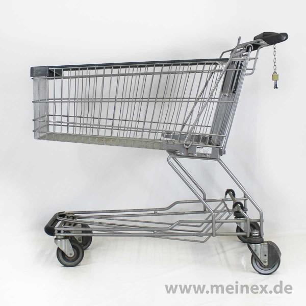 Einkaufswagen WANZL D155 RC - graubeschichtet - Pfandschloss - gebraucht