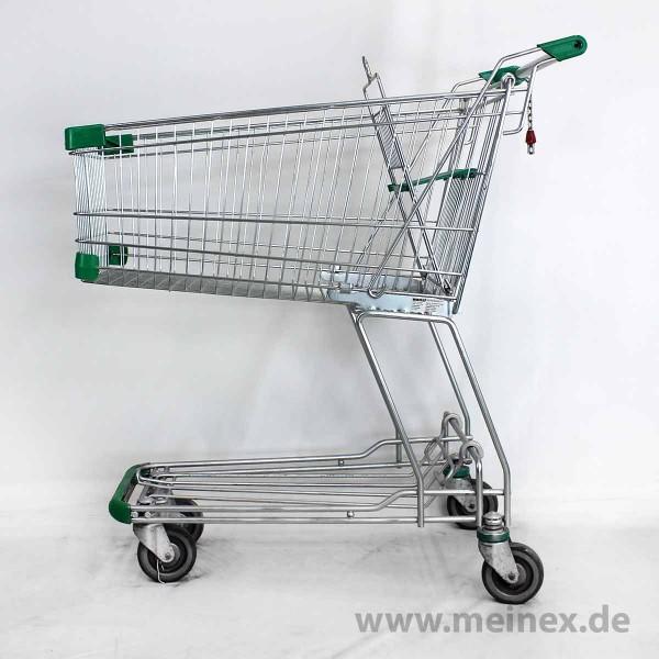 Einkaufswagen WANZL D130 RC - Grün - gebraucht
