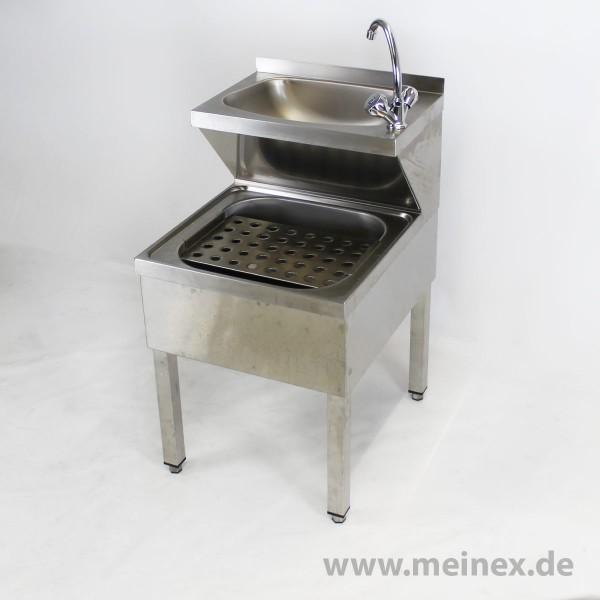 Handwaschausgussbecken Kombination - neuwertig
