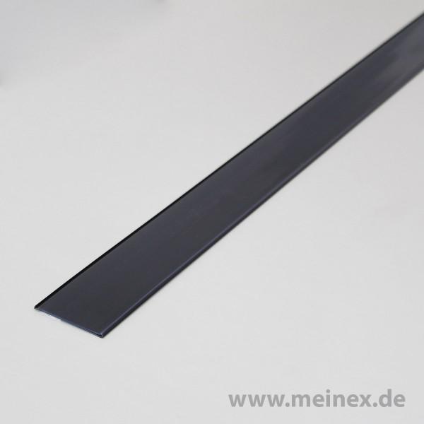 Scannerschiene / Preisschiene - VPE 10 - anthrazit / selbstklebend L125