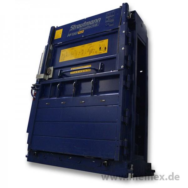 Ballenpresse / Papierpresse PP 1207-Plus Strautmann - gebraucht