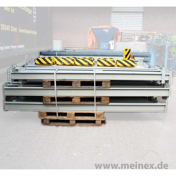 Palettenregaltraverse - gebraucht / Galler Omega / 3000 mm IPG: 120 x 65 mm