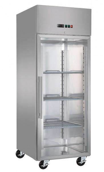 Freezer PREMIUM - 0.74 x 0.83 m - with 1 glass door - new