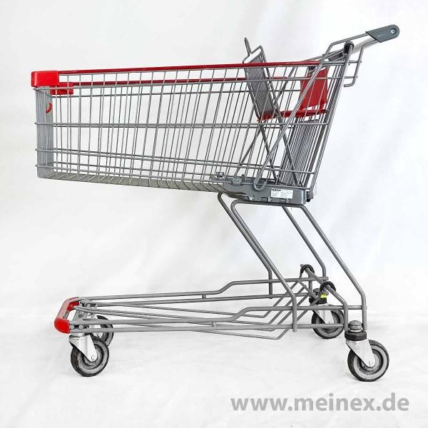 Einkaufswagen WANZL D155 RC - Kindersitz in rot - gebraucht