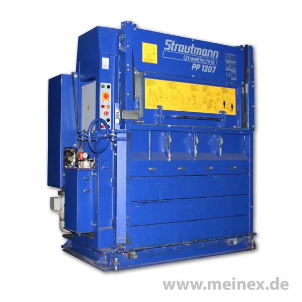 Ballenpresse / Papierpresse PP 1207 Strautmann - gebraucht