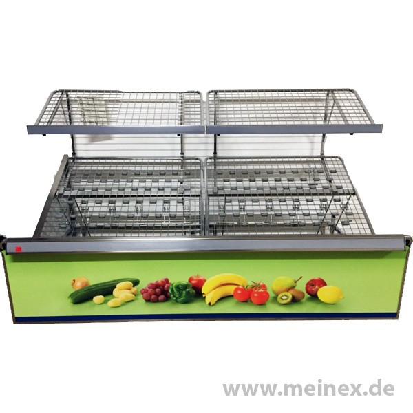 Verkaufsschräge / Obstschräge / Gemüseschräge - groß - gebraucht